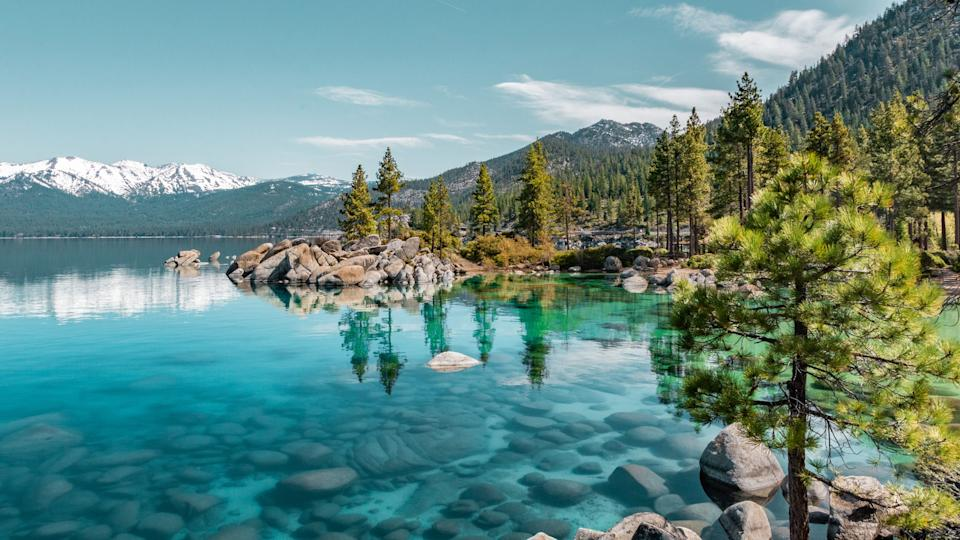 Lake Tahoe, California, reminds some people of Lago Maggiore, which straddles Italy and Switzerland.