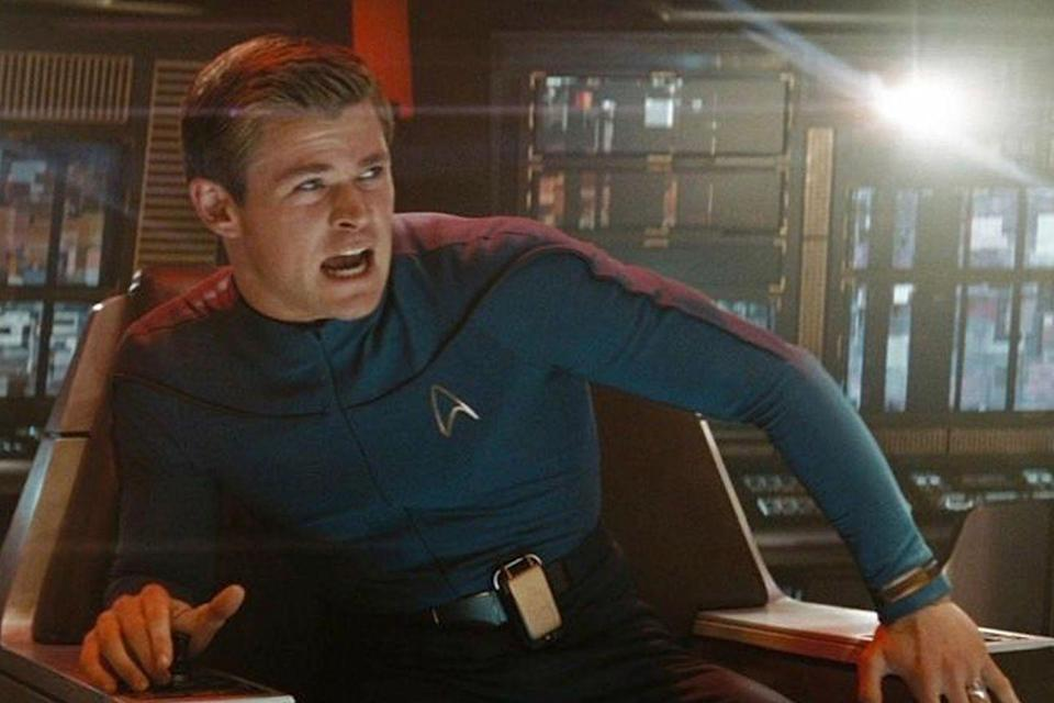 <p>Although he'd been acting on television for years before, Hemsworth's first part in a movie was as George Kirk (aka Chris Pine's dad) in J.J. Abrams' <em>Star Trek</em> reboot.</p>