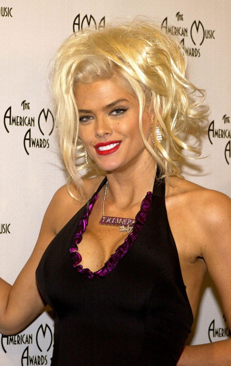 Forget Ange, Trump reveals his dream woman is Anna Nicole Smith. Photo: Getty