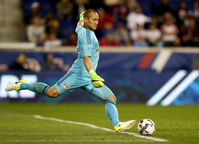 Inter Miami captain Luis Robles says his team-mates are improvising as they adjust to training under coronavirus restrictions (AFP Photo/ELSA)