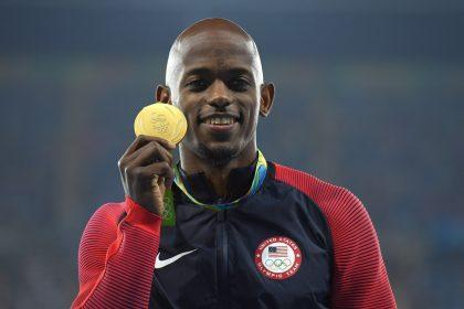 Henderson with his gold medal (Getty Images)