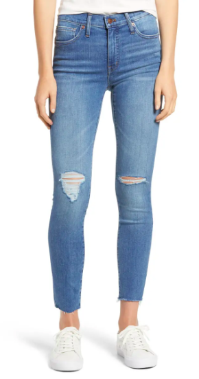 Madewell Mid-rise Skinny Jeans (Photo via Nordstrom)