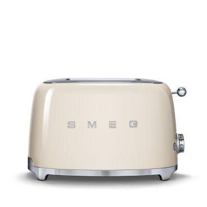 """<p><strong>SMEG</strong></p><p>surlatable.com</p><p><strong>$149.95</strong></p><p><a href=""""https://go.redirectingat.com?id=74968X1596630&url=https%3A%2F%2Fwww.surlatable.com%2Fproduct%2FPRO-3067600%2F&sref=https%3A%2F%2Fwww.womenshealthmag.com%2Ffood%2Fg19983997%2Fkitchen-gifts%2F"""" rel=""""nofollow noopener"""" target=""""_blank"""" data-ylk=""""slk:Shop Now"""" class=""""link rapid-noclick-resp"""">Shop Now</a></p><p>Perfect toast, meet perfectly vintage design. Your friend or relative will love showcasing this gorgeous appliance on their kitchen counter. Just get ready to eat a lot of avocado toast whenever you visit...</p>"""