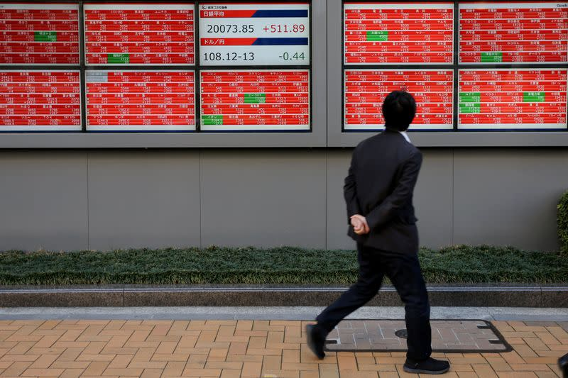 Asian stocks extend gains as vaccine hopes support global reopening