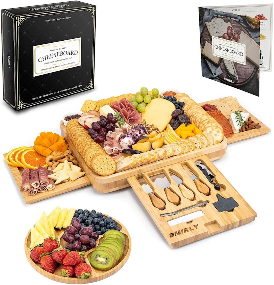 <p><span>Cheese Board and Knife Set</span> ($42, originally $70)</p>
