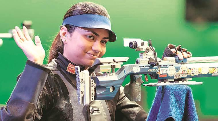 Apurvi Chandela, Apurvi Chandela Tokyo Olympics, Apurvi Chandela air rifle, Apurvi Chandela shooting, Beijing World Cup, Sport news, indian express