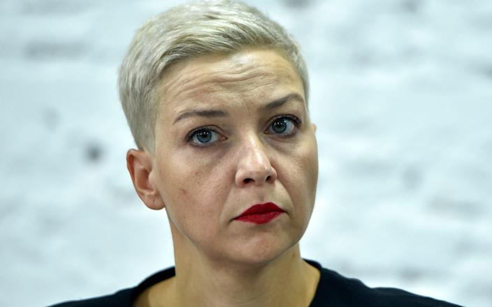 Maria Kolesnikova, a member of the Coordination Council formed by the opposition - Sergei Gapon/AFP