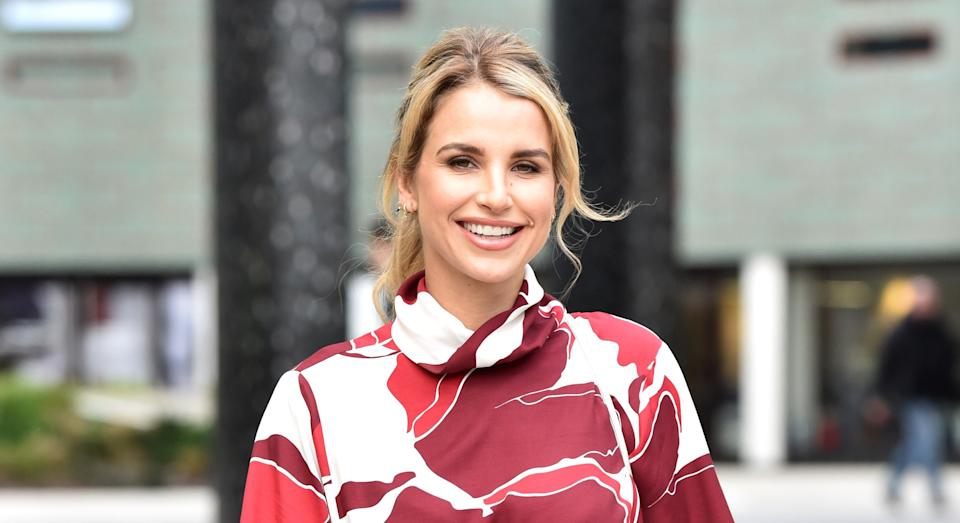 Vogue Williams has opened up about her post-pregnancy exercise regime [Image: Getty]