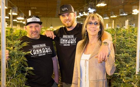 Meghan Markle's nephew Tyler Dooley is a Cannabis farmer who is planning a new drug called Markle's Sparkle - Credit: Mega