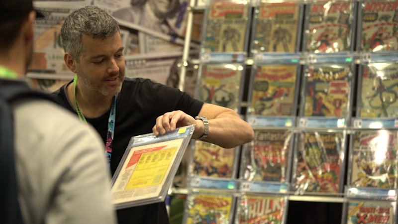 Comic book dealer Dan Gallo — Yahoo Finance