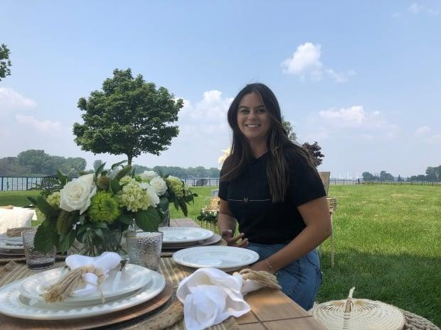 Ceana Ussoletti, founder of Proper Picnics, experienced her first luxury picnic in New York City five years ago. Since then, she's been wanting to bring that moment to others. (Jennifer La Grassa/CBC - image credit)
