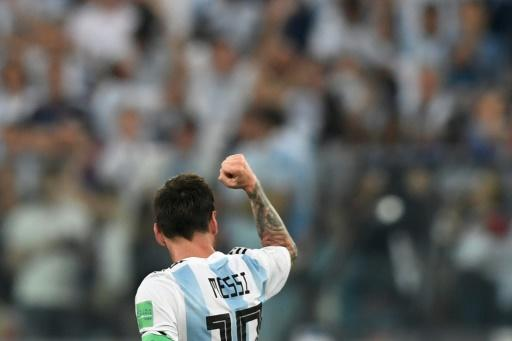 Despite Rojo's heroics, when Argentina's substitutes flooded the pitch at the full-time whistle, it was their number 10 they smothered