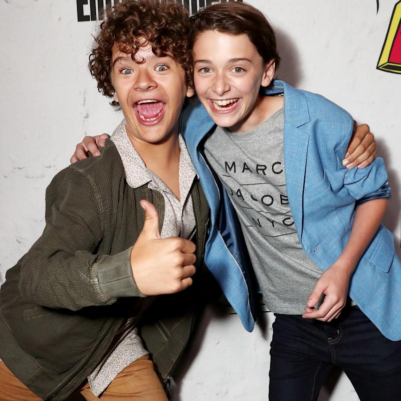 """Stranger Things"" Stars Gaten Matarazzo and Noah Schnapp Reveal the Weirdest Fan Interactions at SAG Awards 2018"