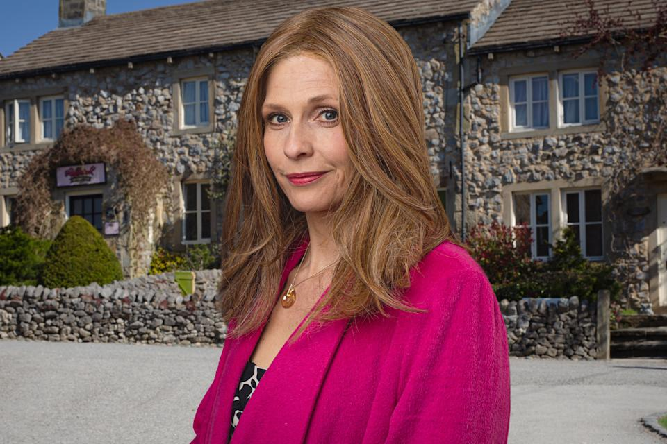 Bernice Blackstock is returning to Emmerdale. (Mark Bruce/ITV)