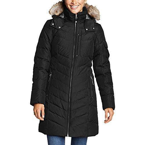"""<p><strong>Eddie Bauer</strong></p><p>amazon.com</p><p><strong>$179.40</strong></p><p><a href=""""https://www.amazon.com/dp/B00KN5JVCA?tag=syn-yahoo-20&ascsubtag=%5Bartid%7C10049.g.34439448%5Bsrc%7Cyahoo-us"""" rel=""""nofollow noopener"""" target=""""_blank"""" data-ylk=""""slk:Shop Now"""" class=""""link rapid-noclick-resp"""">Shop Now</a></p><p>Eddie Bauer's Sun Valley Down Parka will come in handy when a harsh blizzard hits your neck of the woods. This option features 650 fill premium down to keep you warm without weighing you down. Plus, it features a StormRepel durable water-repellent finish that will keep moisture from seeping inside. Hit us with your best shot, Mother Nature.</p><p><strong>Reviews:</strong> 515<br><strong>Rating: </strong>4.5/5 <strong><br>Sizes: </strong>X-Small—3X</p>"""