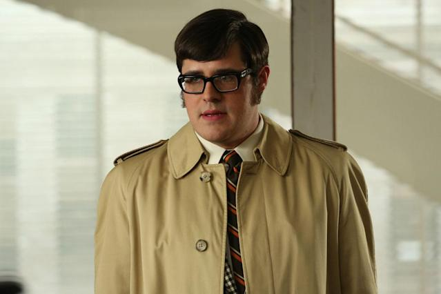 "Harry Crane (Rich Sommer) in the ""Mad Men"" episode, ""To Have and to Hold."""