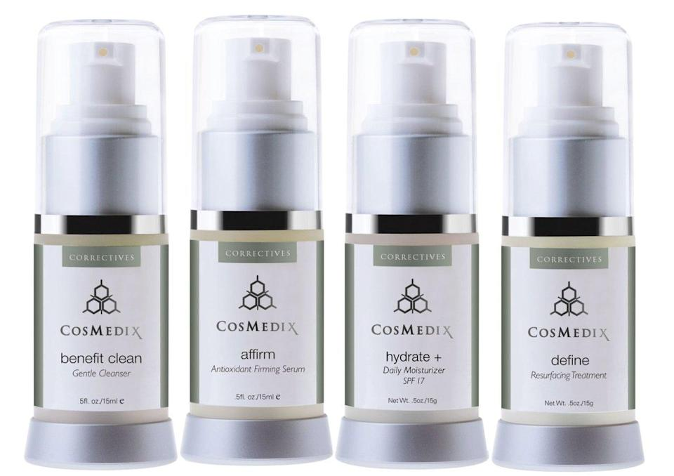 """<p>Rejuvinate your skin this holiday season with <a href=""""https://www.google.com/url?sa=t&rct=j&q=&esrc=s&source=web&cd=1&cad=rja&uact=8&sqi=2&ved=0ahUKEwi3uZjw6J_JAhUJOz4KHb8_DtsQFgg2MAA&url=http%3A%2F%2Fwww.cosmedix.com%2F&usg=AFQjCNFSNYSKWY1V7DMhaXeE73dR3CqhJA&sig2=ghjRTRew8J6H3u7IURVH0Q&bvm=bv.108194040,d.cWw"""" rel=""""nofollow noopener"""" target=""""_blank"""" data-ylk=""""slk:CosMedix"""" class=""""link rapid-noclick-resp"""">CosMedix</a> skincare products. Receive 20% off site wide a week before Black Friday and 20% site wide + free shipping on Cyber Monday! Code: EARLYBIRD15 Offer Available: 11/20/2015 11/22/2015. Code: CYBERMON15 Offer Available: Cyber Monday.<br></p>"""