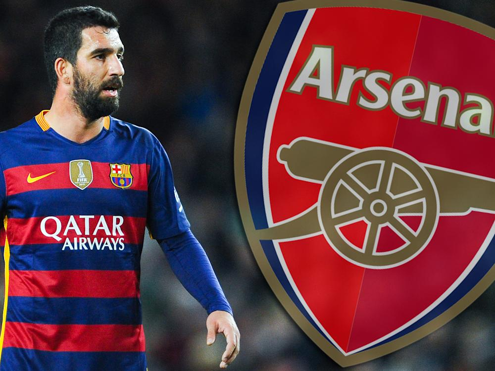 There is speculation that Arsenal see Turan as a perfect replacement for Ozil: Getty