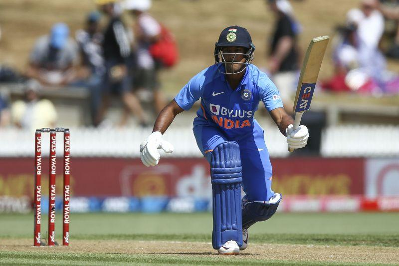 Mayank Agarwal made his ODI debut in this series