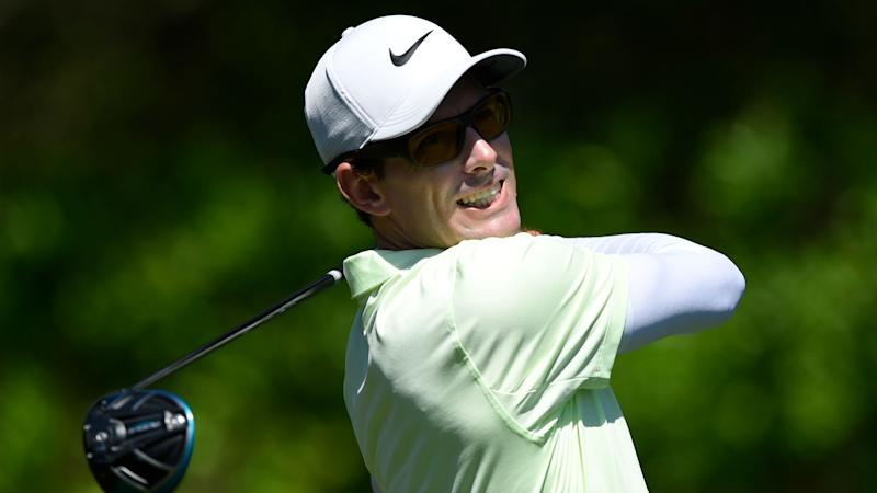 WATCH: Dylan Frittelli marks Masters debut with ace in par-3 contest