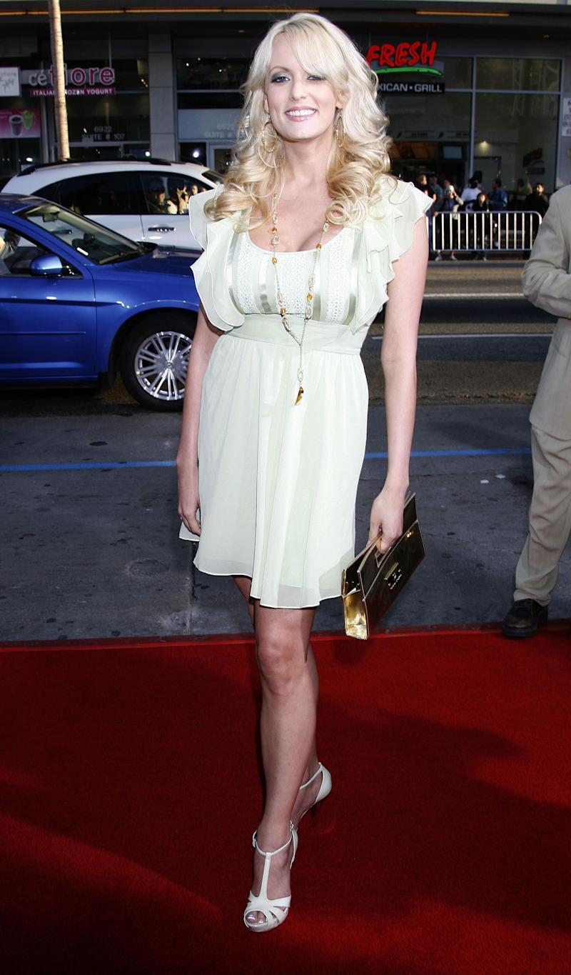 """At the premiere of """"Forgetting Sarah Marshall"""" at Grauman's Chinese Theatre in Hollywood."""