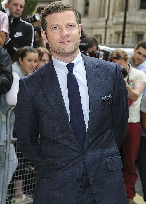 Other men to carry off a good suit included: 1. X Factor host Dermot O'Leary