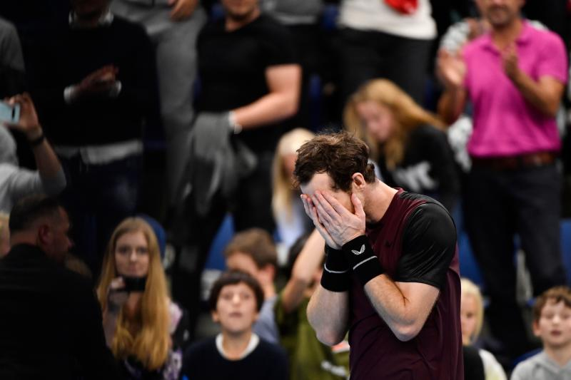 Andy Murray besiegte Stan Wawrinka in Antwerpen und jubelte emotional. (Bild: Getty Images)