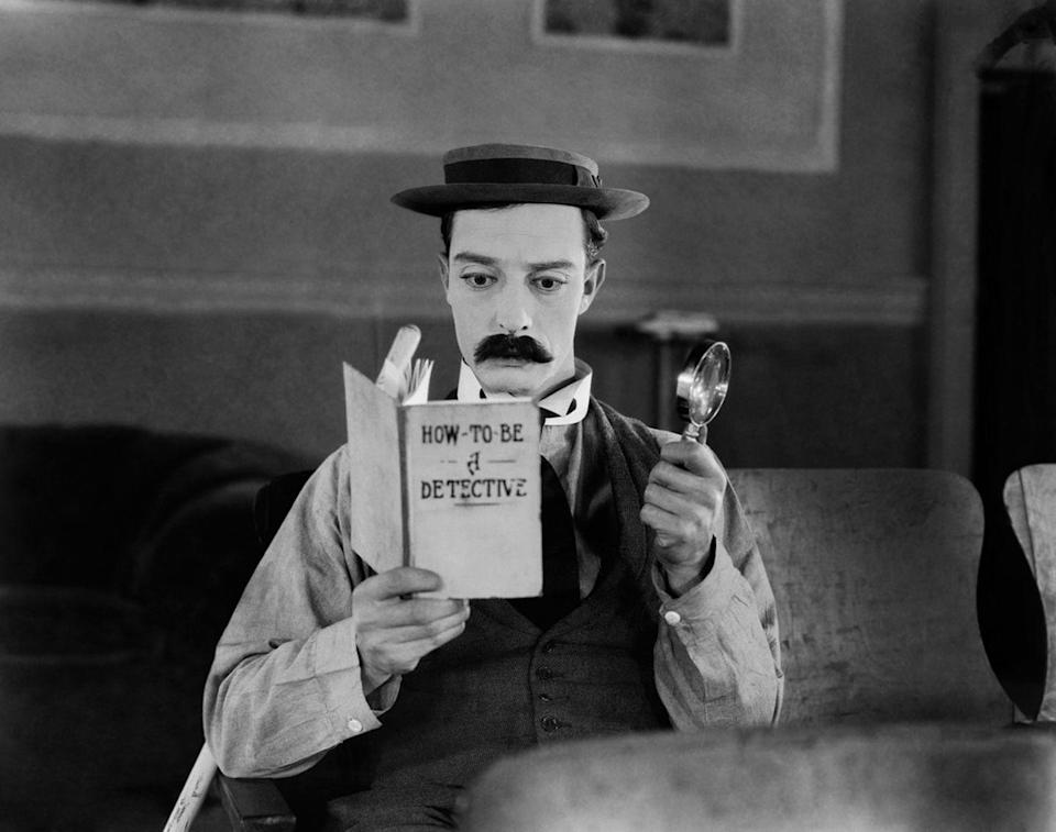 <p>As one of the most prominent actors of the '20s, Buster Keaton directed 20 films — and starred in all but three of them. The 1924 classic <em>Sherlock Jr.</em> is one of the comedy actor's most famous works.</p>