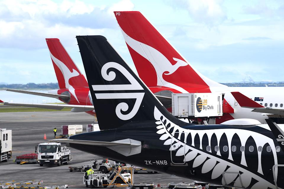The Auckland airport worker has been placed into isolation. Source: Getty