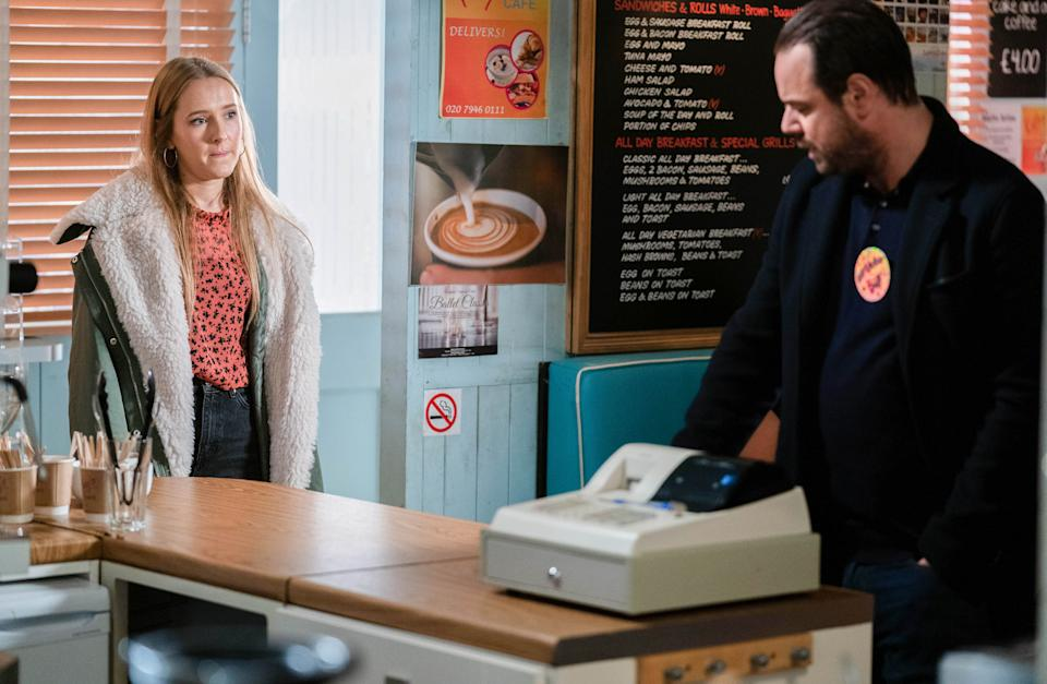 Rose Ayling-Ellis has praised Danny Dyer for his 'deaf awareness'. (BBC/Jack Barnes)