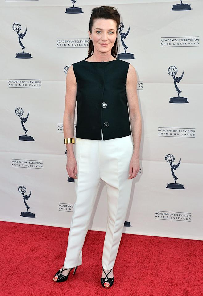 "Michelle Fairley attends The Academy of Television Arts & Sciences'  presentation of An Evening With ""Game of Thrones"" at TCL Chinese Theatre on March 19, 2013 in Hollywood, California."