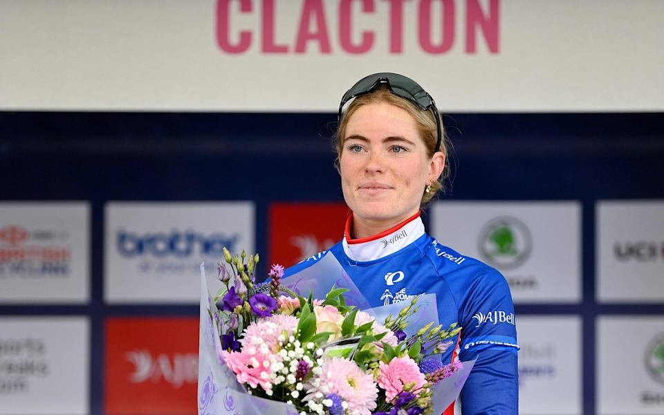Women's Tour 2021: Demi Vollering closes in on victory as Lorena Wiebes claims back-to-back stage wins - GETTY IMAGES
