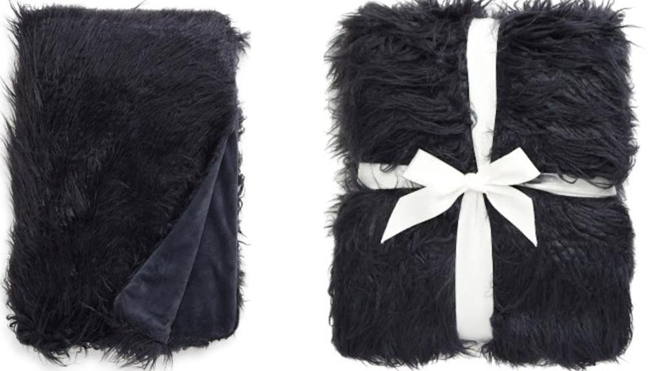 Nordstrom Mongolian Faux Fur Throw Blanket - Nordstrom. $59 (originally $99)