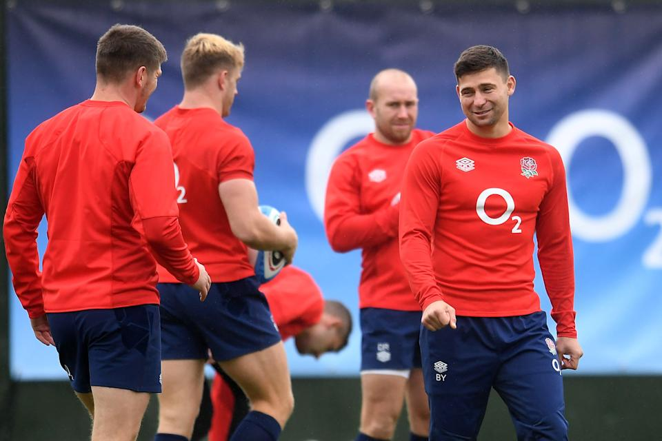 Ben Youngs will make his 100h appearance for England this weekend against Italy (Reuters)