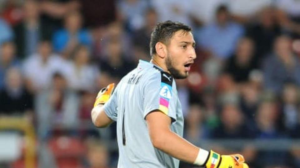 Donnarumma durante l'Europeo Under 21 nel 2017 | MB Media/Getty Images