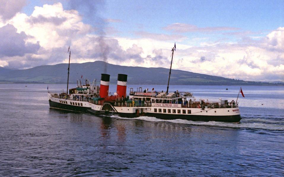 the waverley, paddle steamer - Getty