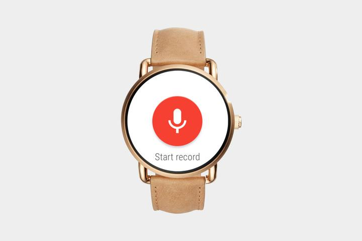 Wear Audio Recorder app