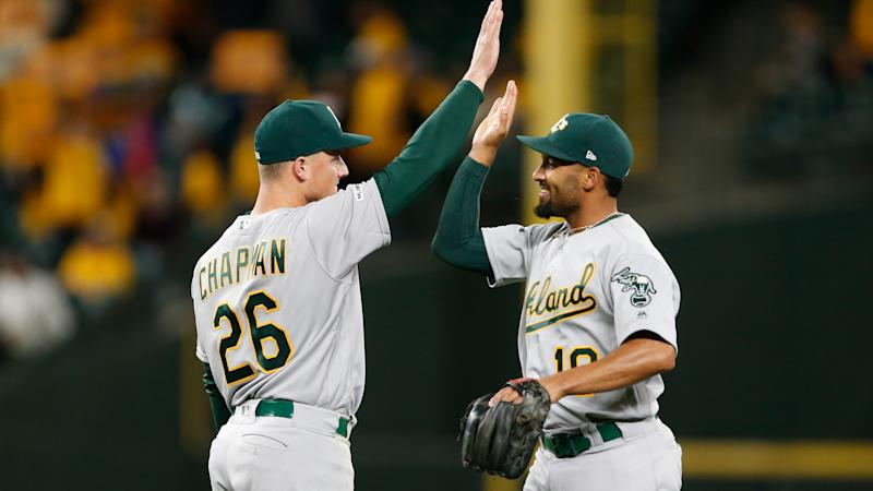 A's infielders Matt Chapman, Marcus Semien aim to be top duo in 2020