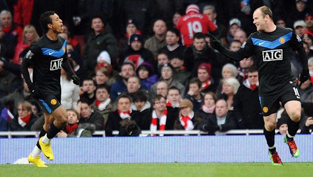 <p>It's been over seven years since Rooney chalked up his landmark 100th Premier League goal and, while he may no longer possess the pace he had back then, the then 24-year-old started and finished a classic United counter attack against title rivals Arsenal.</p> <br><p>Rooney fed ex-United winger Nani from the edge of his own penalty area with a pass that sent the Portugal international scampering into the Gunners' half.</p> <br><p>Nani bore down on goal but, seeing the rampaging Rooney make up the yards as he burst into the box, supplied him with a succinct low cross that the forward guided past Manuel Almunia to bag the monumental strike.</p>