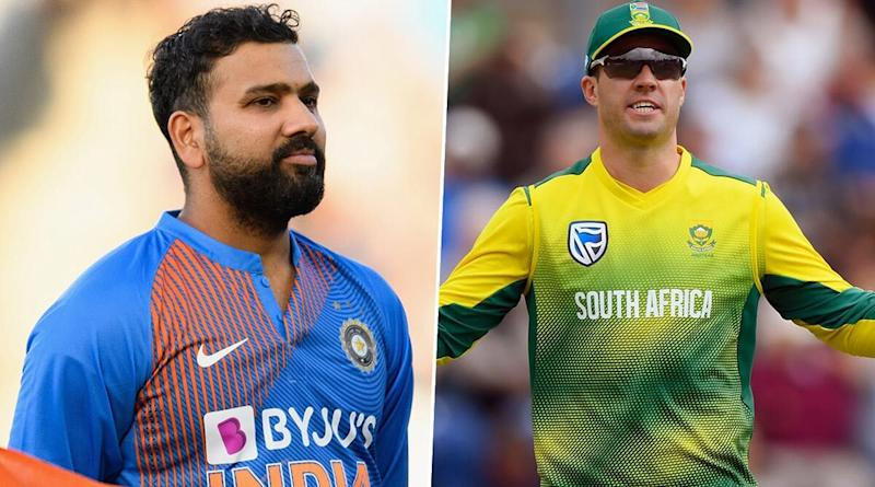 'Rohit Sharma Sledges Me All the Time,' Says AB de Villiers During Live Chat Session on Instagram