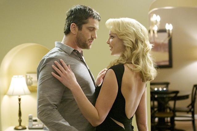 """<p>""""Ugly"""" is probably the kindest way to describe the romance- and comedy-free rom-com that essentially killed the careers of its two stars. The """"chauvinist vs. control freak"""" conflict already seemed dated in '09 and a decade later feels positively Cro-Magnon. On the other hand, that Katherine Heigl and Gerard Butler's characters end up together saves anyone else from having to deal with them. (Photo: Saeed Adyani/Columbia Pictures/courtesy Everett Collection) </p>"""