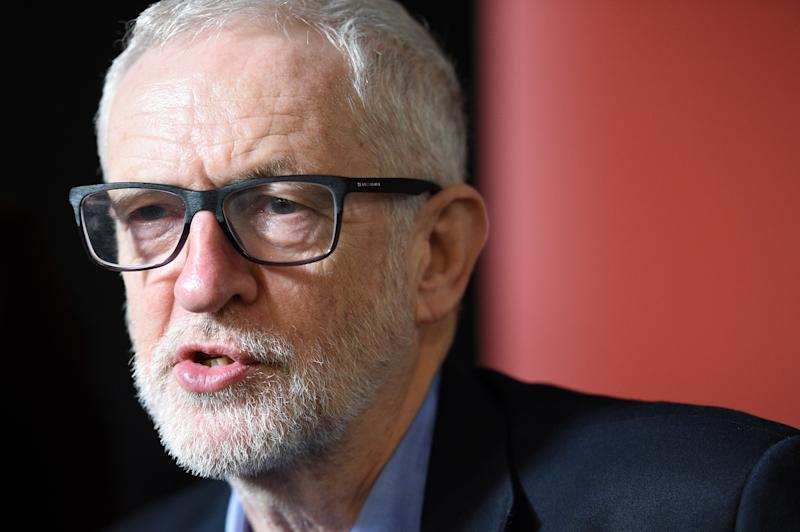 Labour leader Jeremy Corbyn has been criticised for his handling of anti-Semitism within his party (Picture: AFP/Getty)