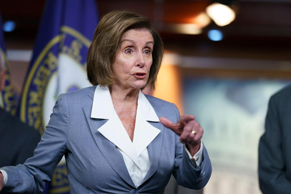House Speaker Nancy Pelosi has angered congressional Republicans over her handling of a House select committee to investigate the Jan. 6 riot at the U.S. Capitol.