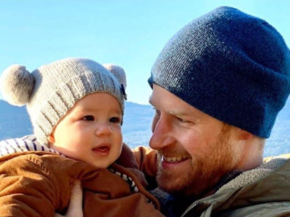 prince harry baby archie