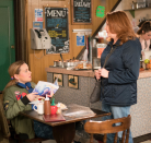 <p>Cathy speak to Gemma about a job in the kebab shop but Dev is less than impressed with Gemma hiring behind his back. Cathy storms out, saddened, will Dev change his mind? </p>