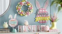 """<p>Still haven't put up your Easter decorations? No one will ever know if you hop on the Zoom call with this festive background.</p><p><a class=""""link rapid-noclick-resp"""" href=""""https://go.redirectingat.com?id=74968X1596630&url=https%3A%2F%2Fwww.michaels.com%2Fzoombackgrounds&sref=https%3A%2F%2Fwww.goodhousekeeping.com%2Fholidays%2Feaster-ideas%2Fg35822780%2Feaster-zoom-backgrounds%2F"""" rel=""""nofollow noopener"""" target=""""_blank"""" data-ylk=""""slk:DOWNLOAD HERE"""">DOWNLOAD HERE</a></p>"""