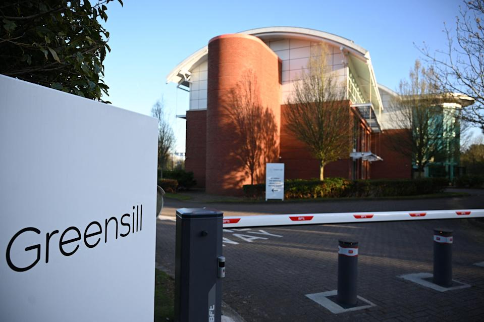 <p>The offices of the collapsed finance firm Greensill Capital in Warrington, England</p> (AFP via Getty)