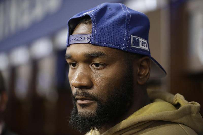 Darius Leonard said a Chipotle manager kicked him out after a white customer complained about him.