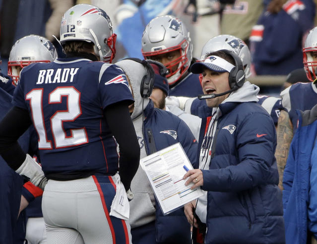 "Josh McDaniels has lived a charmed life working with <a class=""link rapid-noclick-resp"" href=""/nfl/players/5228/"" data-ylk=""slk:Tom Brady"">Tom Brady</a>. (AP)"