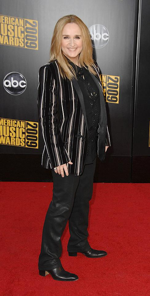 "Melissa Etheridge  Grade: C-  The multi-talented musician arrived in exactly what we expected: a disappointingly dark ensemble and lackluster locks. Steve Granitz/a href=""http://www.wireimage.com"" target=""new"">WireImage.com - November 22, 2009"